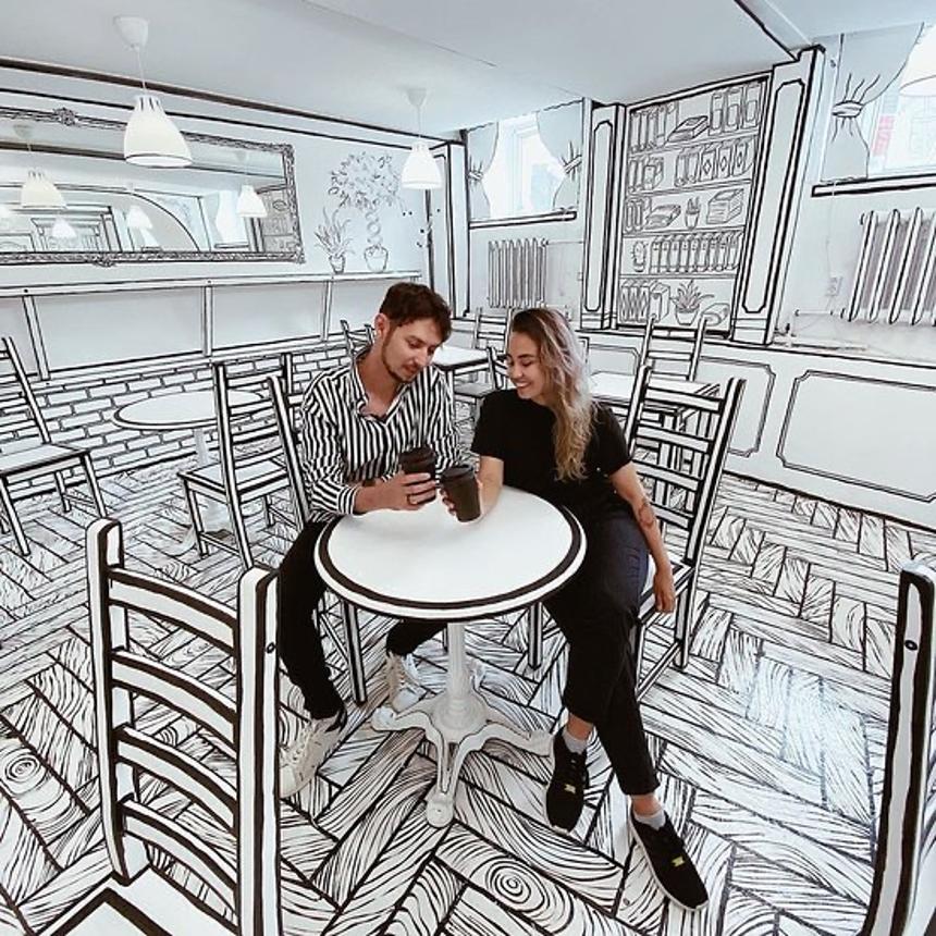 5 quán cà phê xuyên không tại cố đô nước Nga