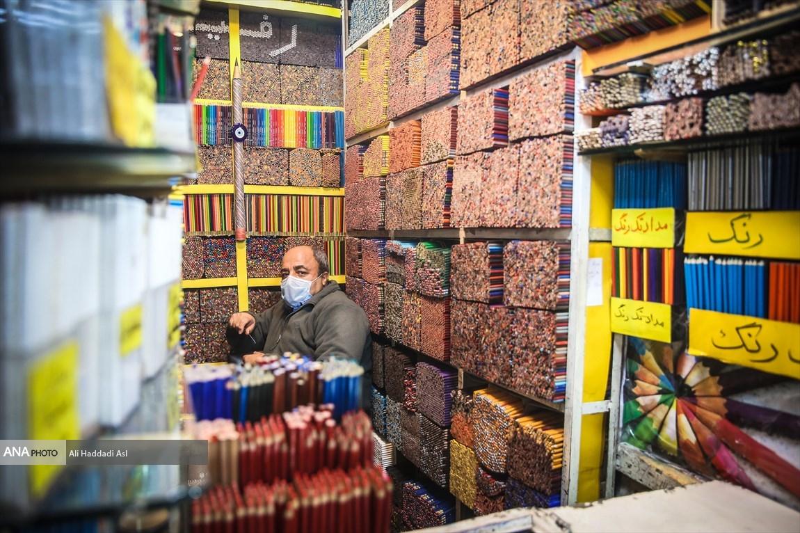 Ông Rafi trong cửa tiệm nhỏ bé, đã có tuổi đời hơn 30 năm của mình. Ảnh: Ali Haddadi Asl/Ana