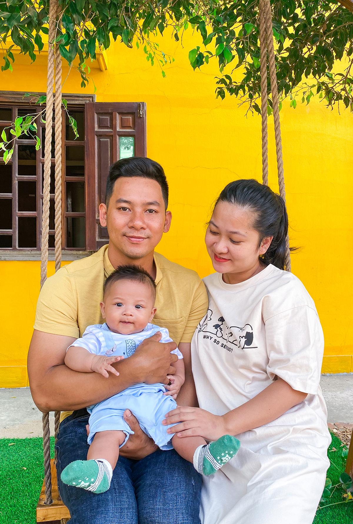 Tổ ấm nhỏ của Phan Lê Tân. Ảnh: NVCC