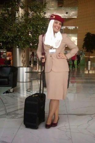 Duygu Karaman đến từ Anh, đã làm tiếp viên cho Emirates trong 7 năm. Ảnh: Duygu Karaman