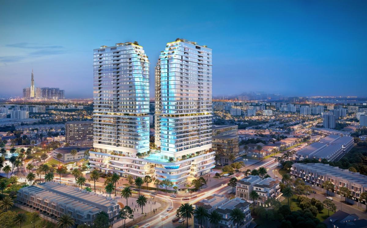 Bộ sưu tập giới hạn 724 căn hộ cao cấp tại King Crown Infinity được nhiều nhà đầu tư và khách mua để ở quan tâm và tìm kiếm. Ảnh phối cảnh: BCG Land.