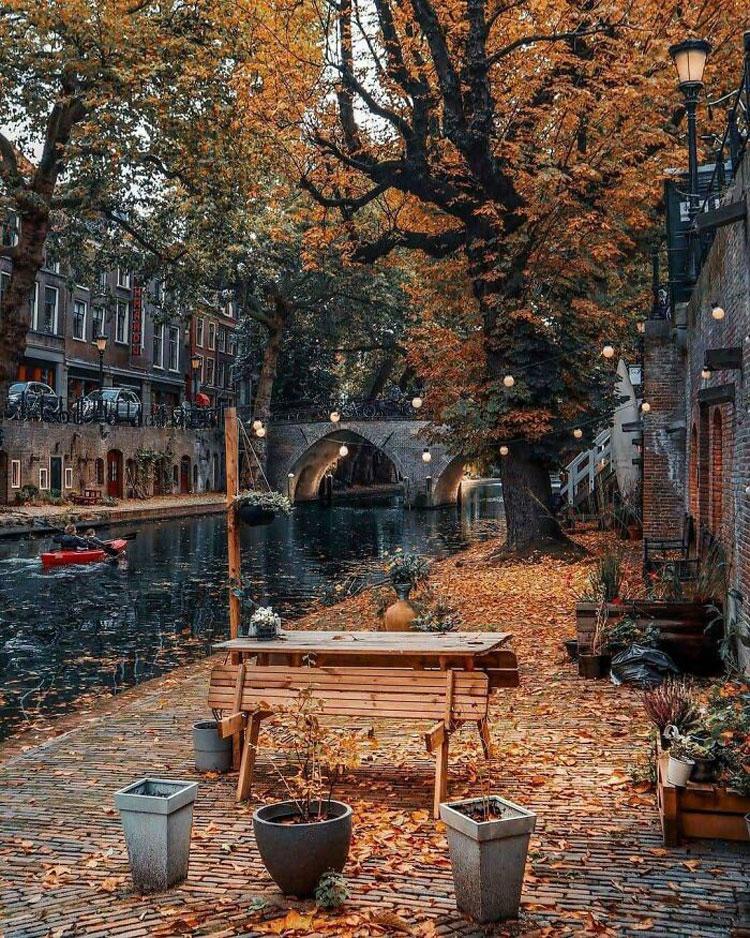 Bức ảnh trên được chụp tại thành phố Utrecht