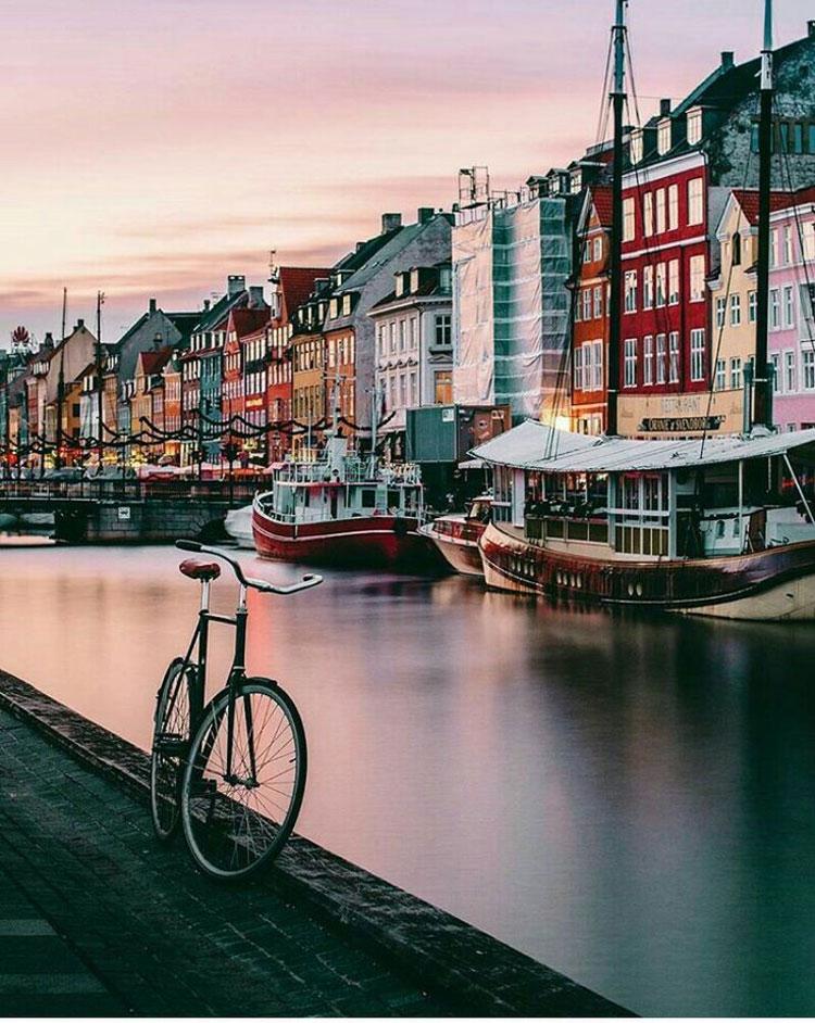 Đây là lần đầu tiên, thủ đô Đan Mạch được vinh danh ở hạng mục thành phố an toàn nhất thế giới. Năm 2019, nó đứng thứ 8. Ảnh: Pinterest