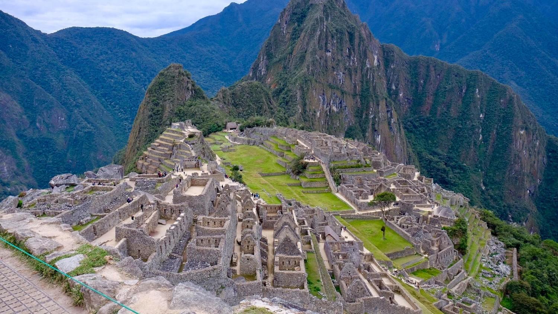Tàn tích Machu Picchu. Ảnh: Lê Anh Tuấn