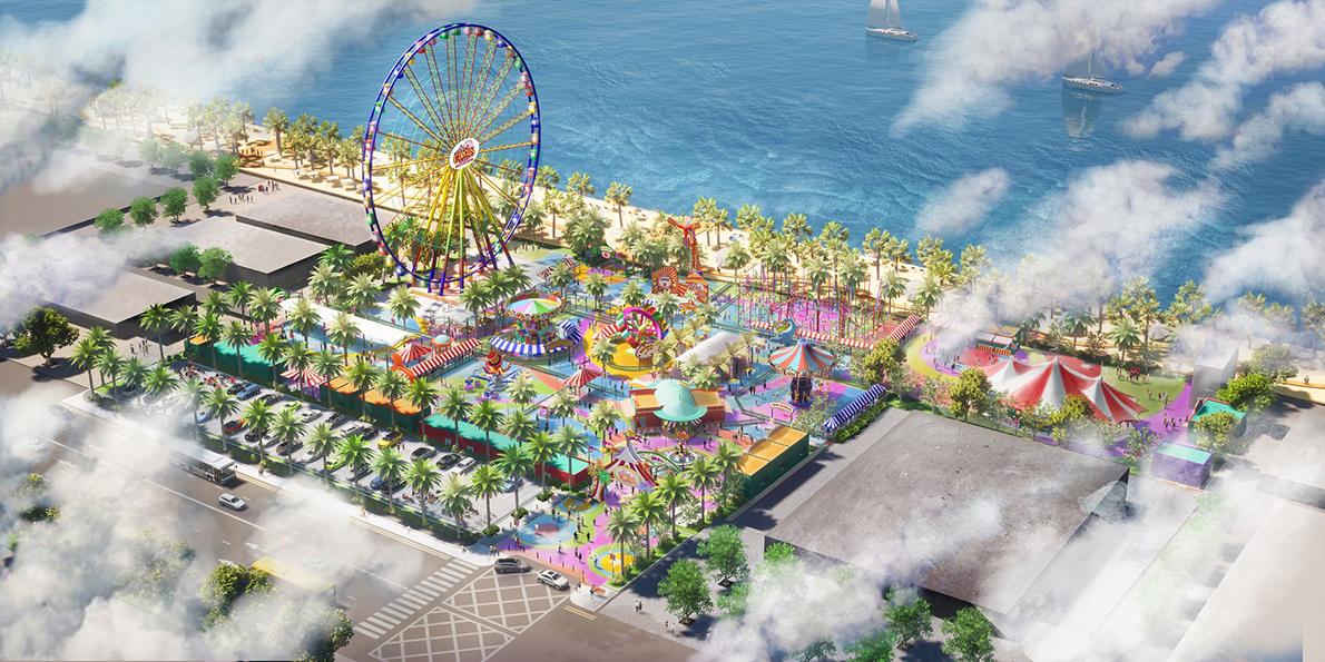 Công viên giải trí luôn là một trong những tiện ích hàng đầu thu hút được sự chú ý của cư dân và du khách trong, ngoài nước.