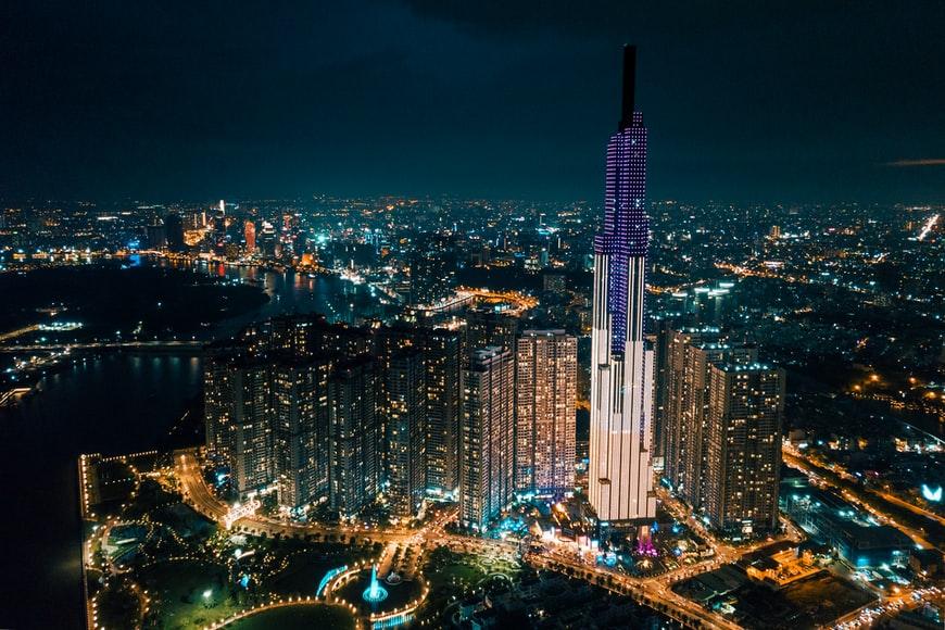 TP HCM lọt top 5 thành phố được nhiều người xem nhất trên TikTok. Ảnh: Unsplash