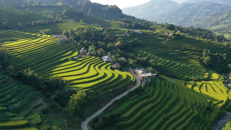 Vừa qua ngày 19/9, tỉnh Hà Giang chương trình giới thiệu bản sắc văn hóa các dân tộc gắn với danh thắng quốc gia Ruộng bậc thang Hoàng Su Phì. Ảnh: Sở Du lịch Hà Giang