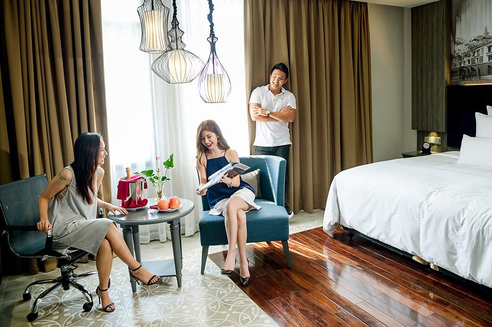 Paradise Suites - Khách sạn boutique đầu tiên và duy nhất tại đảo ngọc Tuần Châu, là địa điểm lý tưởng cho kỳ nghỉ staycation đẳng cấp