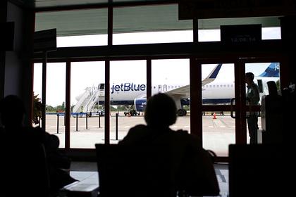Sự việc xảy ra trên chuyến bay của hãng hàng không Jet Blue. Ảnh: Alexandre Meneghini/Reuters