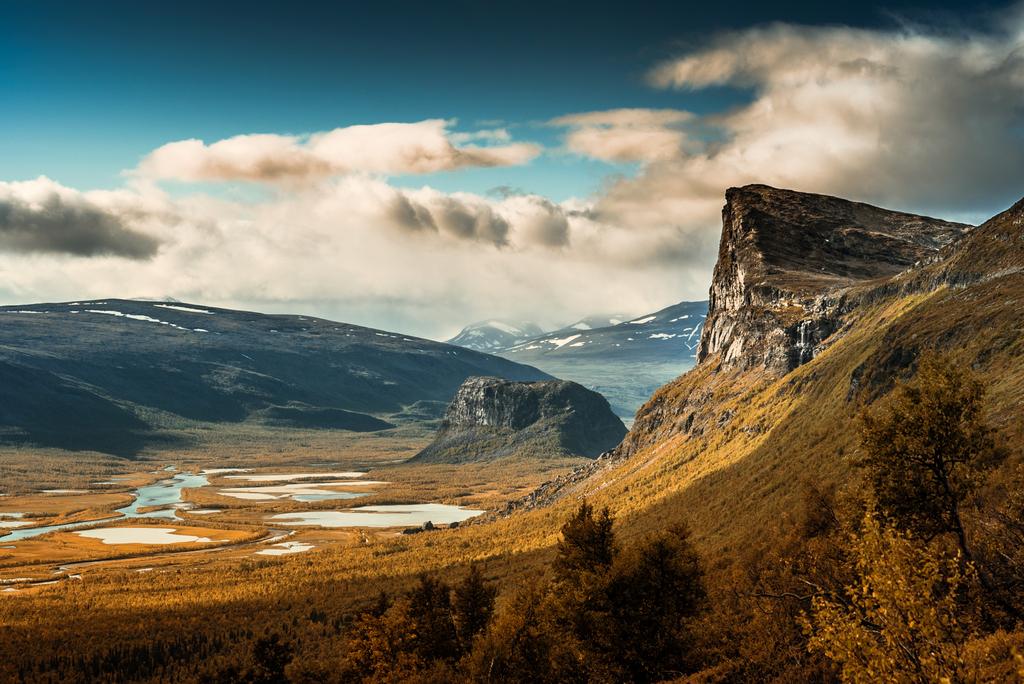 Vườn quốc gia Sarek, một trong những điểm đến đông khách tại Thụy Điển. Ảnh: CCO