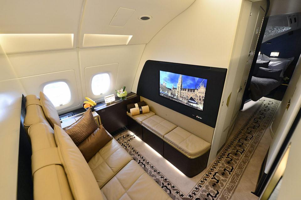 Hạng vé máy bay Residence của Etihad Airways. Ảnh: Sam Chui