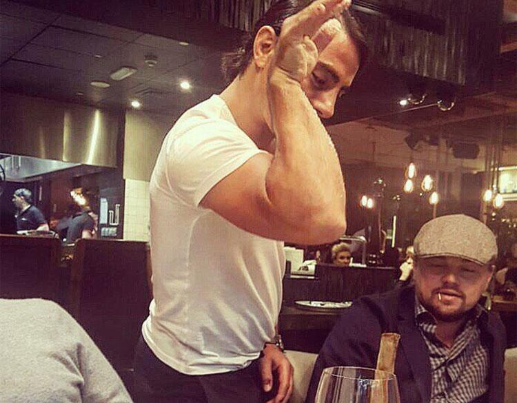 Tải tử Leonardo Dicaprio đến ăn tại nhà hàng của đầu bếp nổi tiếng người Thổ Nhĩ Kỳ. Ảnh: Instagram