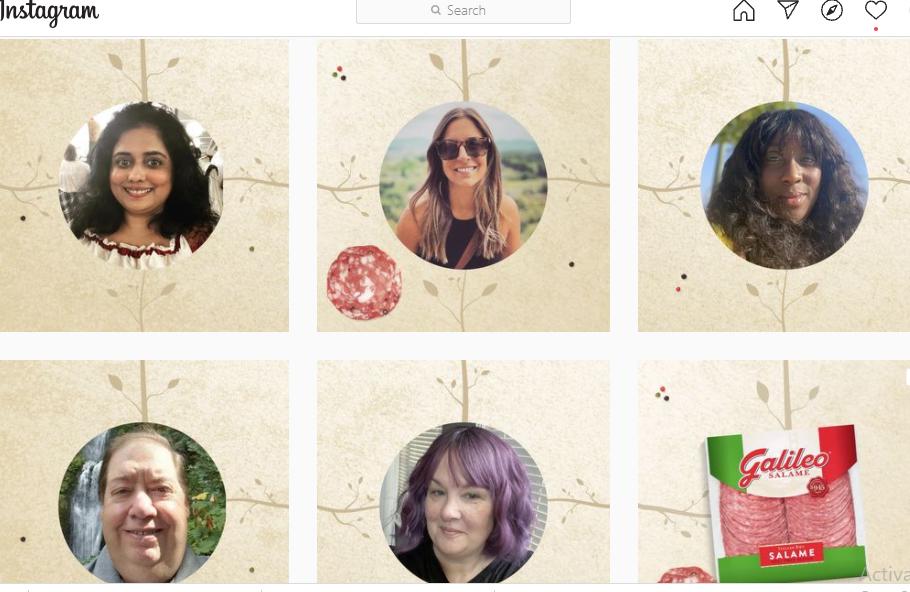 Nhiều thực khách đã đăng ảnh của mình lên Instagram để tham gia cuộc thi. Ảnh: Instagram/Galileosalame