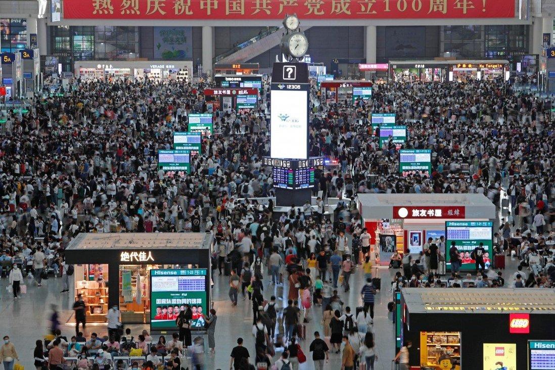 Tuần Lễ Vàng dịp quốc khánh là kỳ nghỉ quan trọng thứ hai của người dân Trung Quốc, sau dịp Tết nguyên đán. Thời điểm này, phần lớn người dân đi du lịch. Ảnh: Reuters