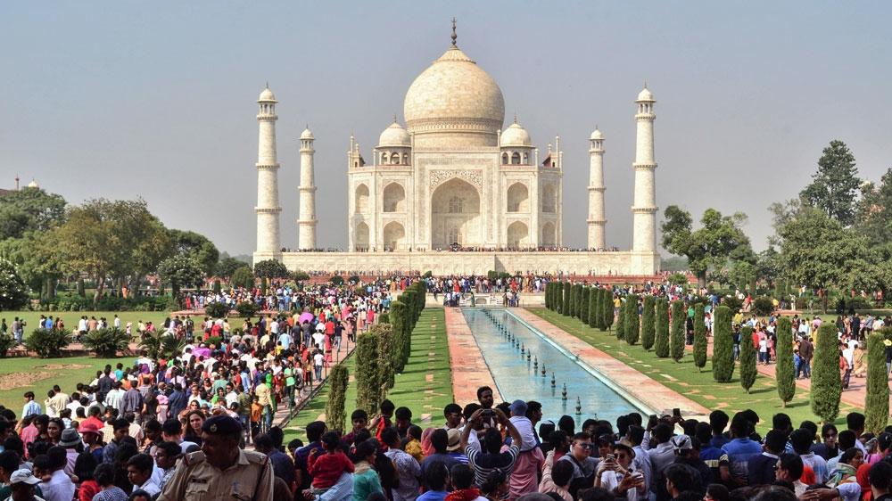 Ấn Độ bắt đầu đón khách quốc tế từ 15/10. Ảnh: Pawan Sharma/AFP
