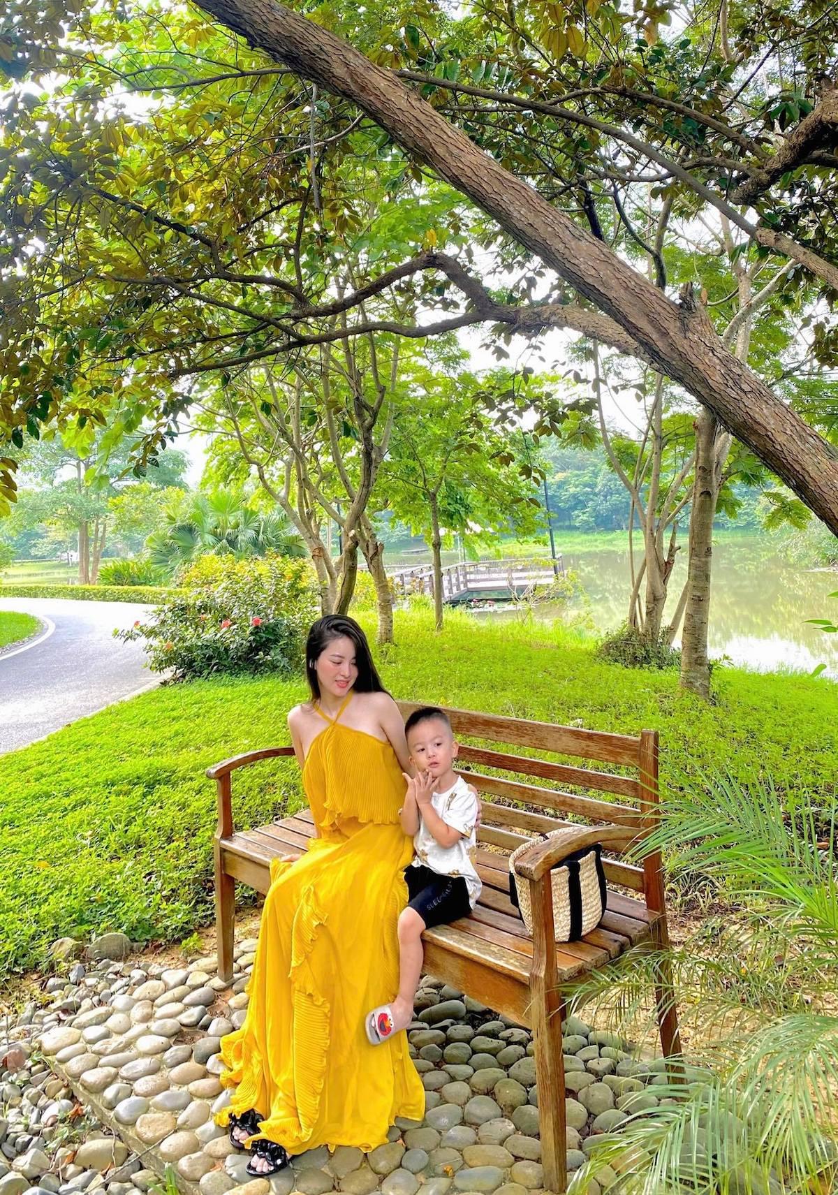 Nghỉ dưỡng cùng gia đình, gần thiên nhiên là nhu cầu của nhiều du khách sau thời gian ở nhà vì Covid-19. Ảnh: Nguyễn Thu Hương